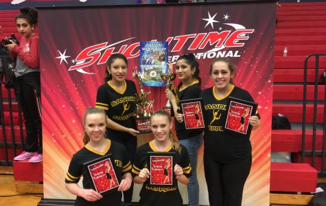 Steppers Sweep Showtime Competition