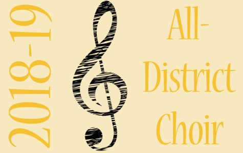 Choir Members Audition for All-District