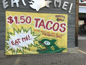 Fuzzy's Tacos top the list of places that offer student specials