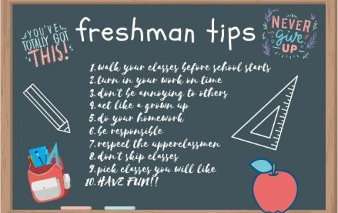 Tips for the Freshmen