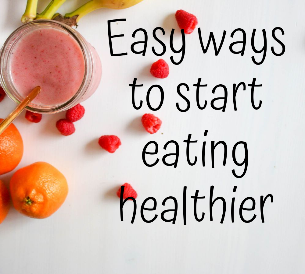 Starting eating healthy begins with simple knowledge of food.