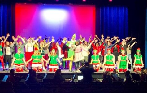 Student from all four AISD high schools perform in Elf the Musical