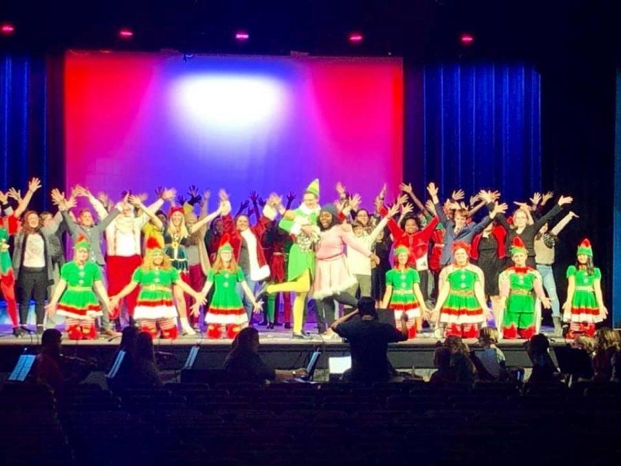 Student+from+all+four+AISD+high+schools+perform+in+Elf+the+Musical