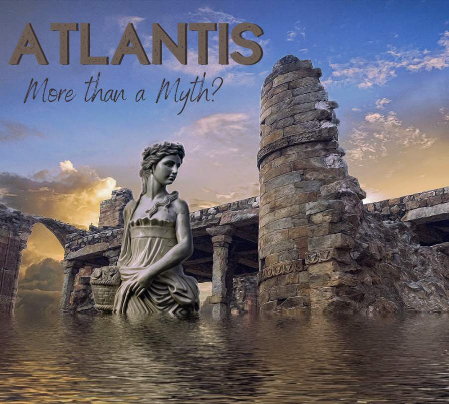 The artist rendition of what Atlantis looked like. The mystery of Atlantis has existed for centuries.