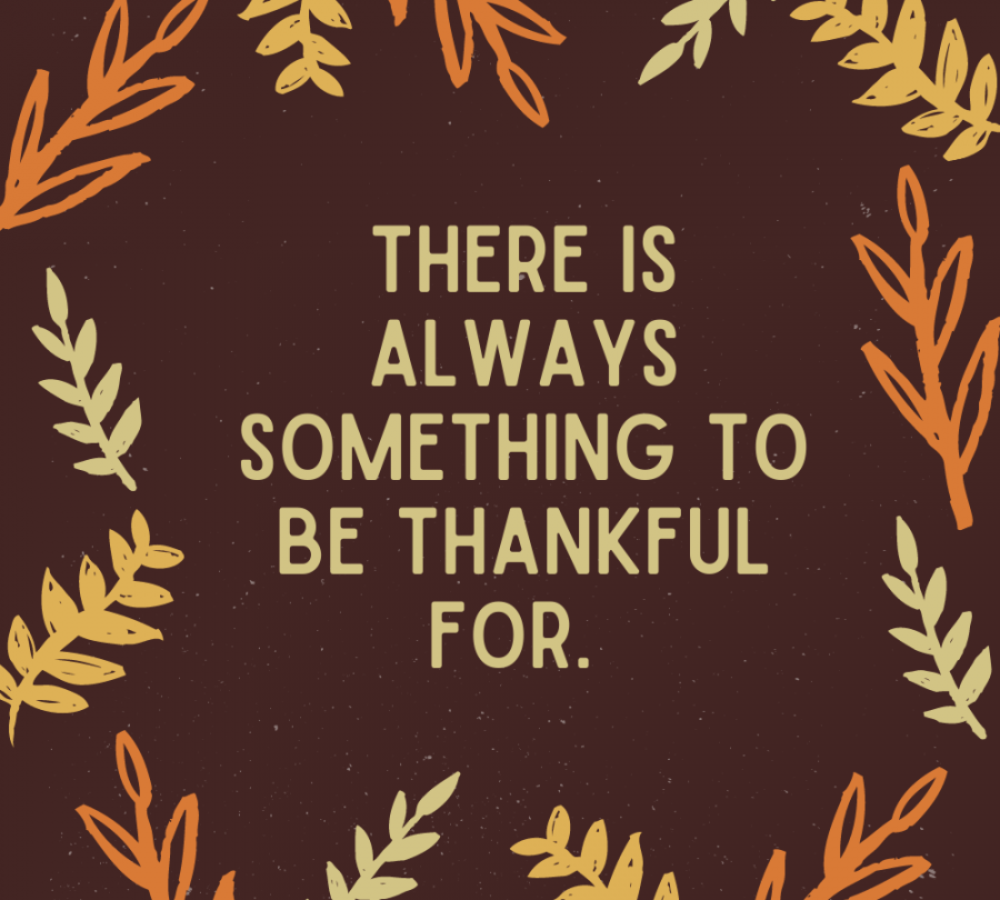Find The Things to be Thankful For