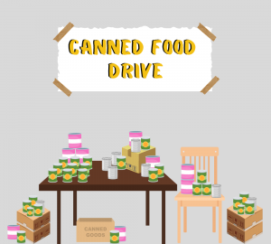 Annual AHS Canned Food Drive