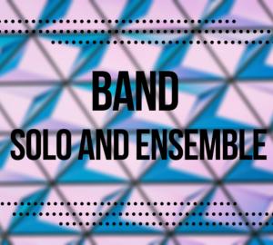 Band Solo And Ensemble