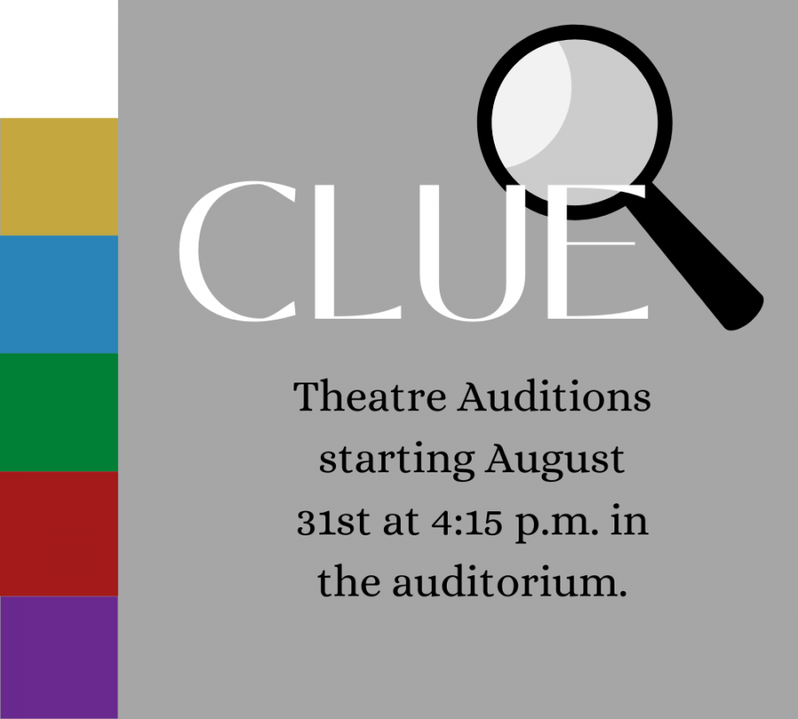 Auditions for Clue fall production