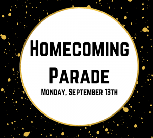 Once Upon a Homecoming Parade